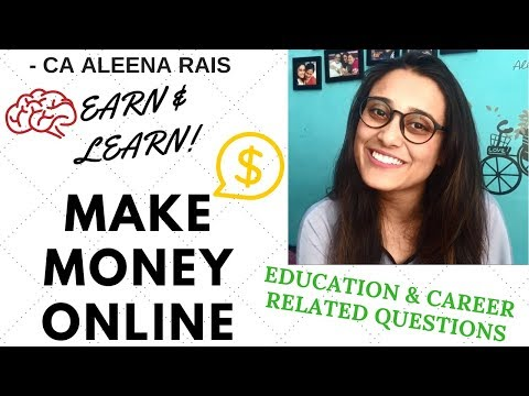 Make Money Online By Answering Career And Education Related Questions [Learn While You Earn]