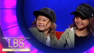 Sky And Ocean Show Off Their Amazing Skateboard Tricks | Little Big Shots Australia