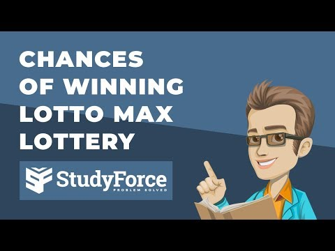 🏆 Chances of winning the Lotto Max lottery