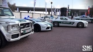 Dubai Police Supercars - Brabus B63S, Aventador, SLS, Roush, Bentley, R8