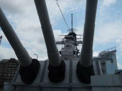 Norfolk Virginia - Tour a WWII Battleship