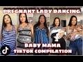 "Pregnant lady dancing ""Baby Mama"" song || Sarah Magusara Pregnancy TikTok Compilation"