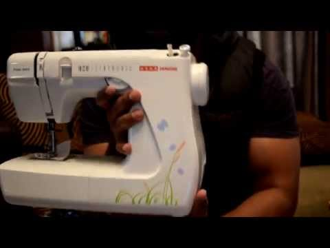 Usha Janome Prima Stitch Sewing Machine (India) Unboxing and short review