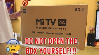 "Mi TV 4A 32"" Unboxing & Installation experience with HOW TO DO IT AT HOME guide!"