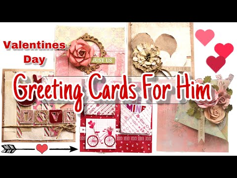 How to make greeting cards for Him ~ Valentines **Giveaway** ~ Payal Bhalani Mp3