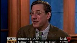 The Wrecking Crew (5), CSPAN, Thomas Frank