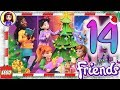 Day 14 Build your Christmas Tree Decorations - Lego Friends Advent Calendar 2018