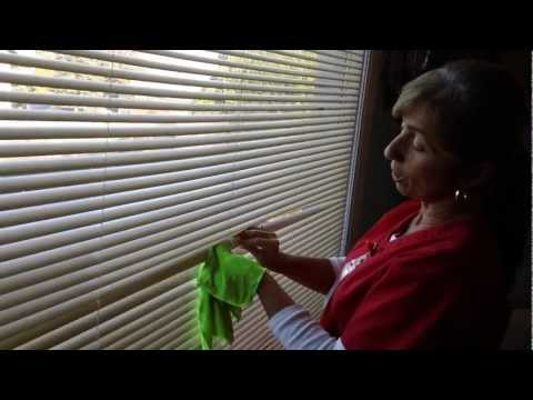 How To Clean Smoke Damaged Blinds