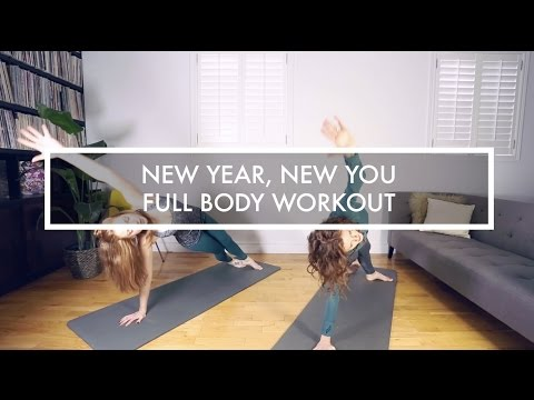New Year, New You: Full Body Workout (Legs, Abs, Arms!!)