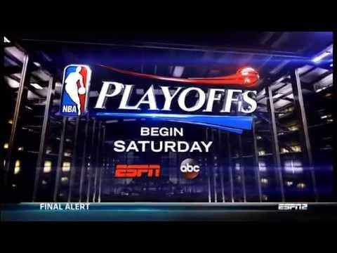 April 17, 2014 - ESPN - 2014 NBA Playoffs Commercial