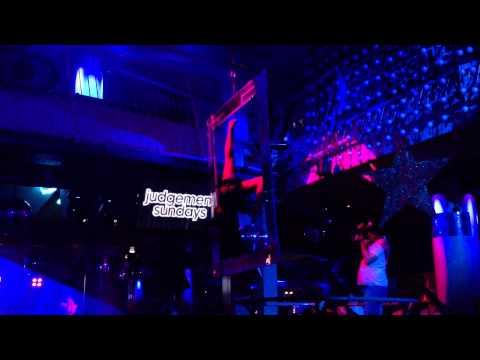 Ibiza - Club Eden - Dancing Box Woman