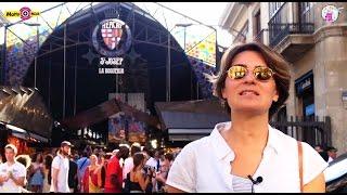 """Baklava İspanya'da Da Satılıyormuş! İşte Barselona'nın Mısır Çarşısı """"La Boqueria"""""""