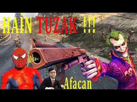 Şimşek McQueen Ve Örümcek Adam Chuky Joker Ekibine Karşı - Süper Kahramanlar Çizgi Film İzle#34