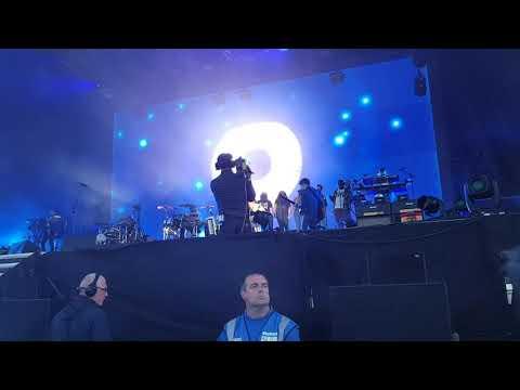 Gorillaz - Souk Eye NEW SONG!! (Malahide 2018)
