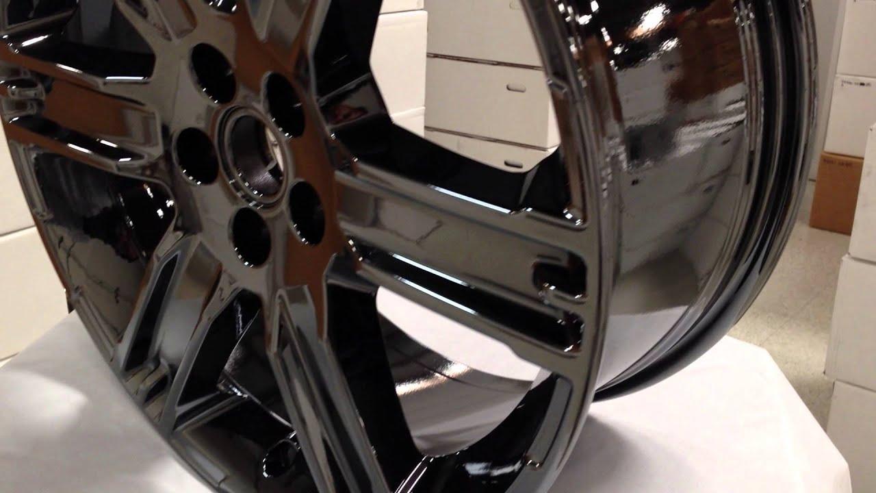 New Black Chrome PVD Wheels SET OF 4 for RANGE ROVER ...