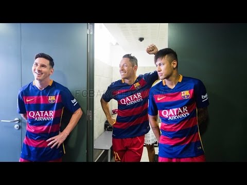FC Barcelona first team photo shoot (season 2015/16)