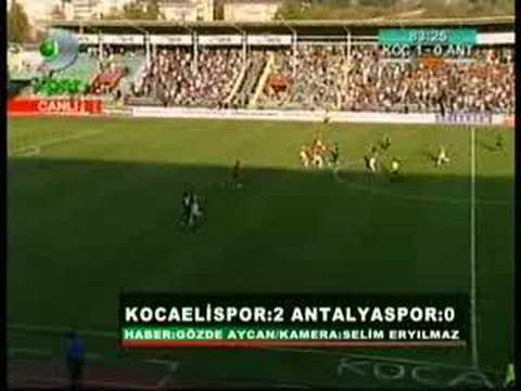 Kocaelispor'umuz - Antalyaspor'umuz | Türk Tribün Videoları