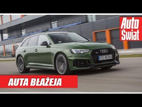 Samochód Błażeja - Audi RS4 Avant