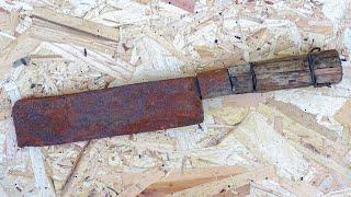 Restoration Rusty Cleaver