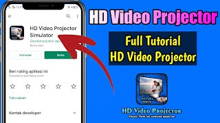 How to use hd video projector simulator screenshot 4