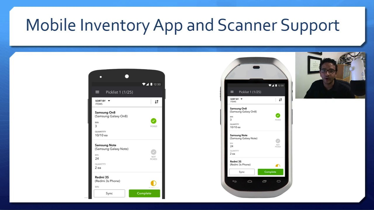 QuickBooks Enterprise 2019 New Features: Enhanced Sales Order Fulfillment  with Mobile Scanner