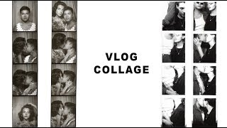 VLOG COLLAGE: fitness, make-up, food