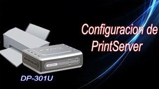 Print Server (Конфігурація і приклад) DP-301u