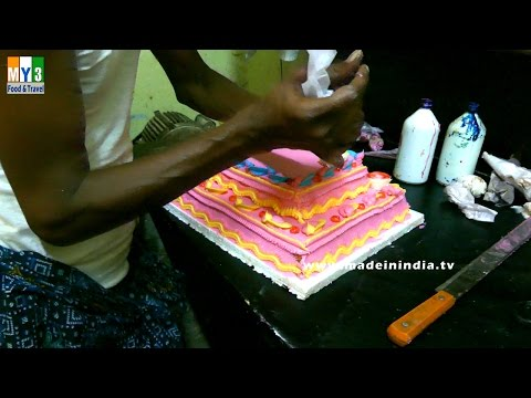 Delicious Cream Cake Making FULL PREPARATION | MAKING OF CAKE |