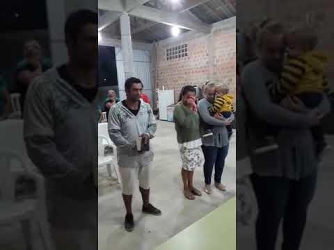 Culto missionário da congregação do carvoeiro  das assembleias de Deus  em guaratuba litoral do Para