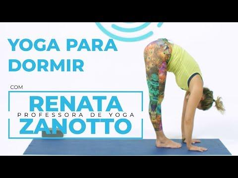 Websérie - Aula de yoga para iniciantes: yoga para dormir melhor | Renata Zanotto