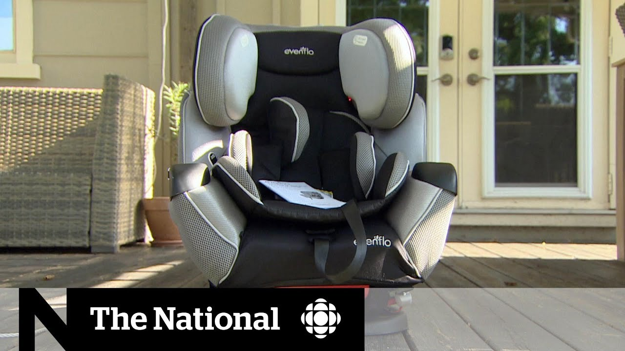 Transport Canada investigating complaints of frayed harnesses in Evenflo  child car seats