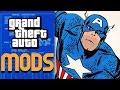CAPTAIN AMERICA in GTA 5! - Mod Gameplay!