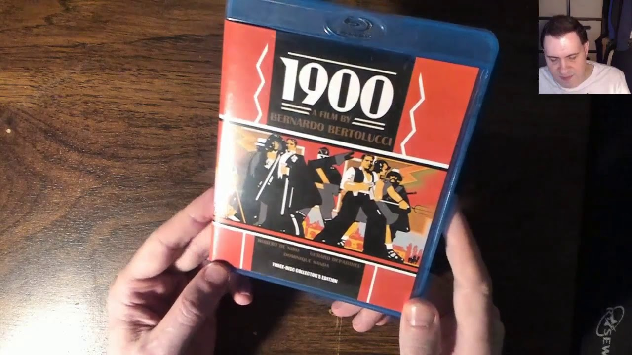 Download Bernardo Bertolucci's 1900  (1976) Robert De Niro  Blu-Ray unboxing review library rental