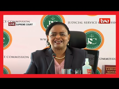 LIVE |Lady Justice Martha Koome JSC interview for the position of Chief Justice