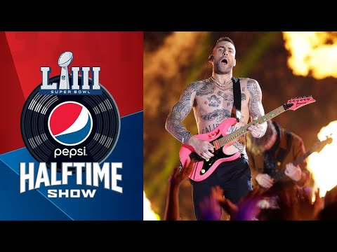 Valerie Knight - WATCH: Maroon 5's Entire Super Bowl Halftime Show Performance