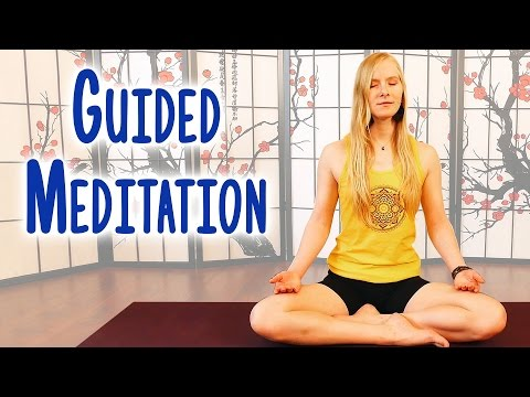 Guided Meditation To Relieve Anxiety & Stress, Deep Relaxation With Relaxing Music