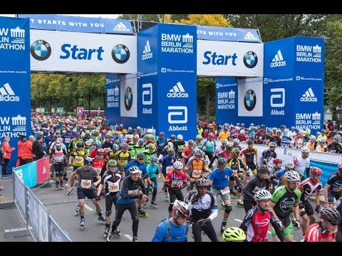 44. BMW Berlin Marathon Inline skating F Group 2017