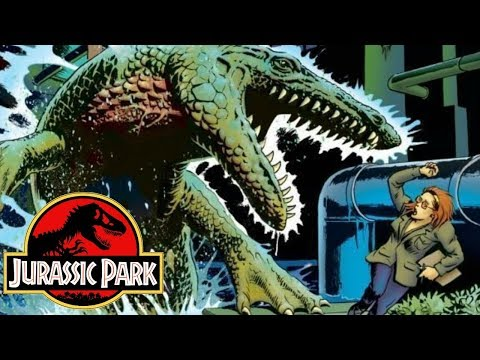 The Chaos Of Dinosaurs On The Mainland - Jurassic Park: Redemption Comics - Part 2