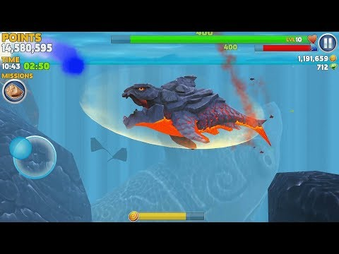 Hungry Shark Evolution Pyro Shark Android Gameplay #37