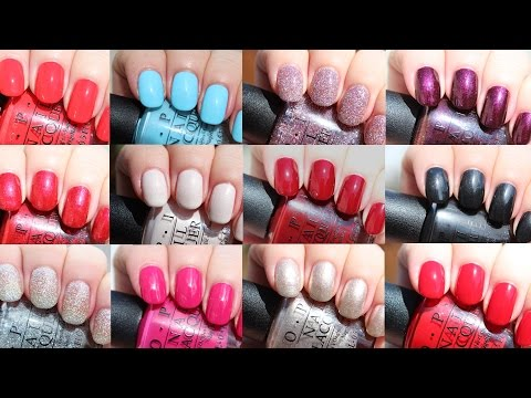 OPI Breakfast at Tiffany's Holiday 2016 | Live Application Review