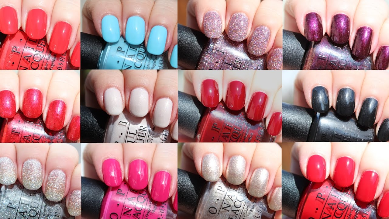 Opi Breakfast At Tiffany S Holiday 2016 Live Application Review Youtube