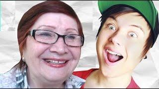 Бабушка смотрит Ивангая! смех до слез!