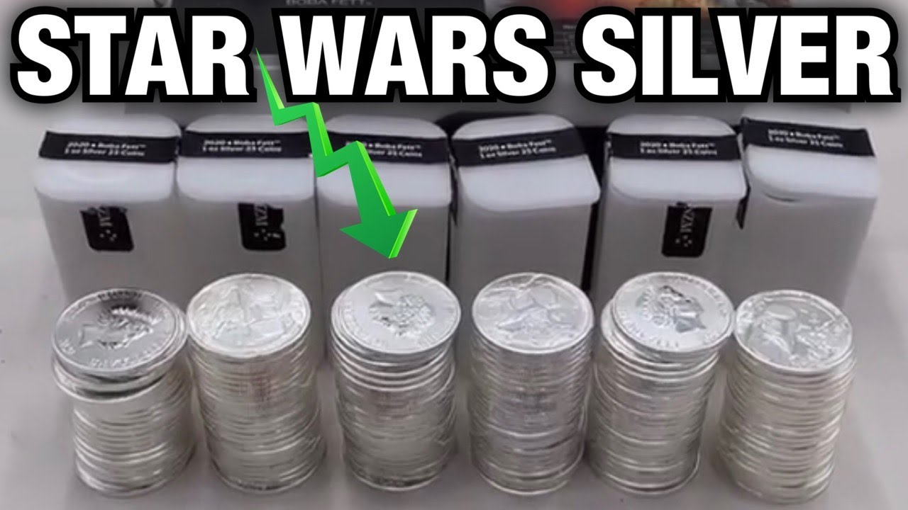 STAR WARS SILVER HOARD ~ $50 ABANDONED STORAGE ~ I bought an abandoned storage unit and found this