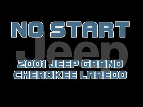 ⭐ 2001 Jeep Grand Cherokee Laredo - No Start - Does Not