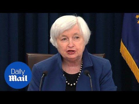 Fed chair Janet Yellen announces interest rate hike - Daily Mail