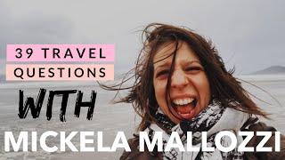 39 Travel Questions with Mickela Mallozzi