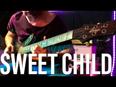 Sweet Child O Mine sound – MOOER GE200 (Guns and Roses – Slash guitar tone ) Eb E flat