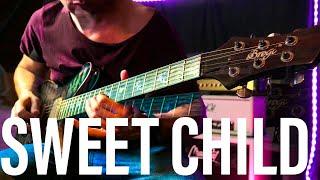 Sweet Child O Mine Sound - MOOER GE200 (Guns And Roses - Slash Guitar Tone ) Eb E Flat