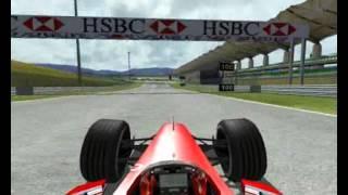Formula 1 1999 Malaysian Grand Prix Eddie Irvine qualifying lapl/ Sepan rapida vuelta