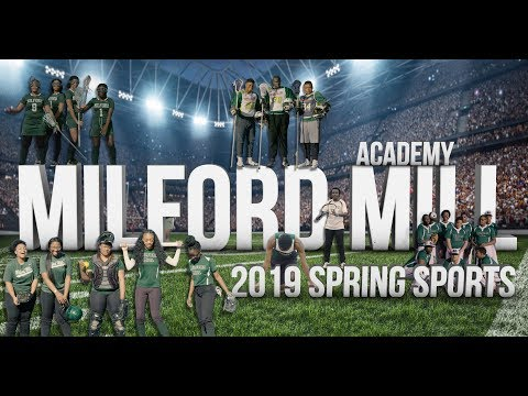 Milford Mill Academy Spring 2019 Sports Promo - Baltimore County, MD